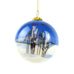 Big Sky Ski Lodge Ski's and Poles in Snow Christmas Ornament by Art Studio Company  at Montana Gift Corral