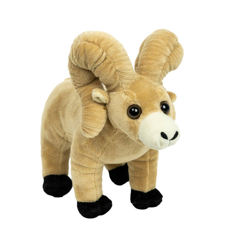 Ram with Corduroy Horns by Wishpets