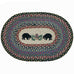 Black Bears Placemat by Capitol Earth Rugs