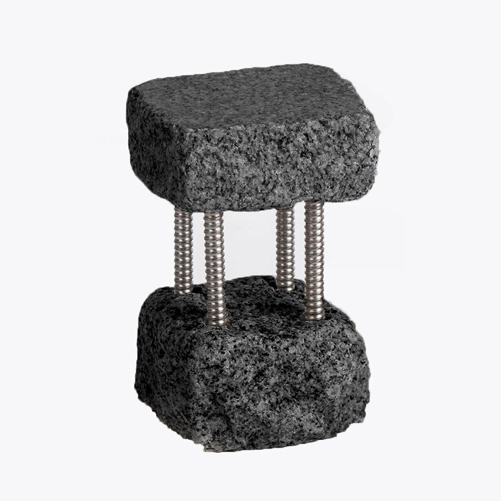 Black Tall Funky Rock Stand