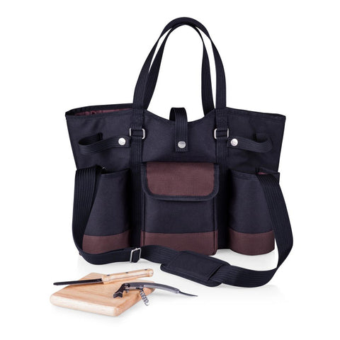 Wine Country Tote by Picnic Time is perfect for any outing and makes everything so much easier to carry!