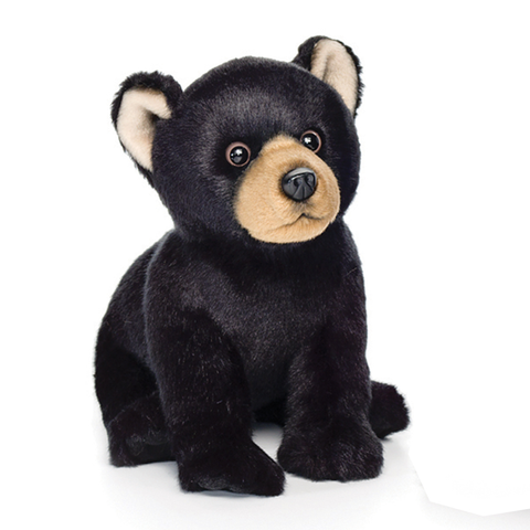 Small Black Bear Plush by Nat&Jules