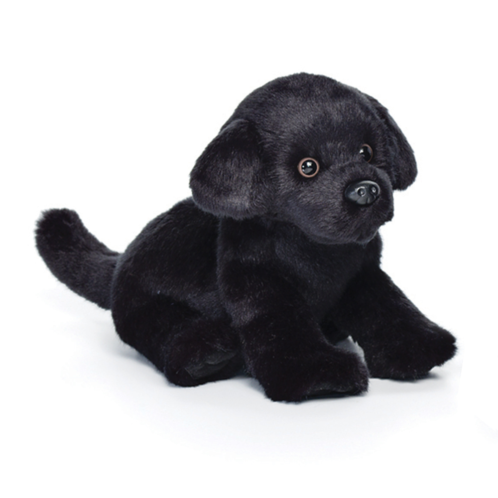 Black Lab Puppy Plush by Nat&Jules