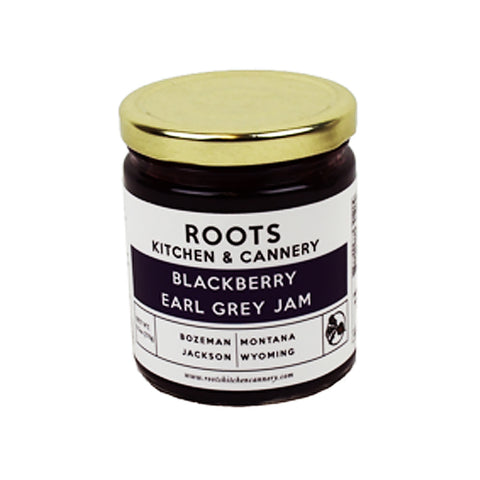 Blackberry Earl Grey Jam - 9.5 oz. Jar by Roots Kitchen and Cannery