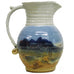 Sky Blue Milk Pitcher by Fire Hole Pottery