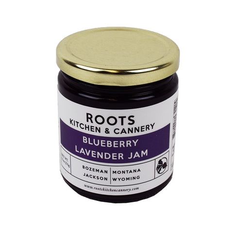 Blueberry Lavender Jam - 9.5 oz. Jar by Roots Kitchen and Cannery