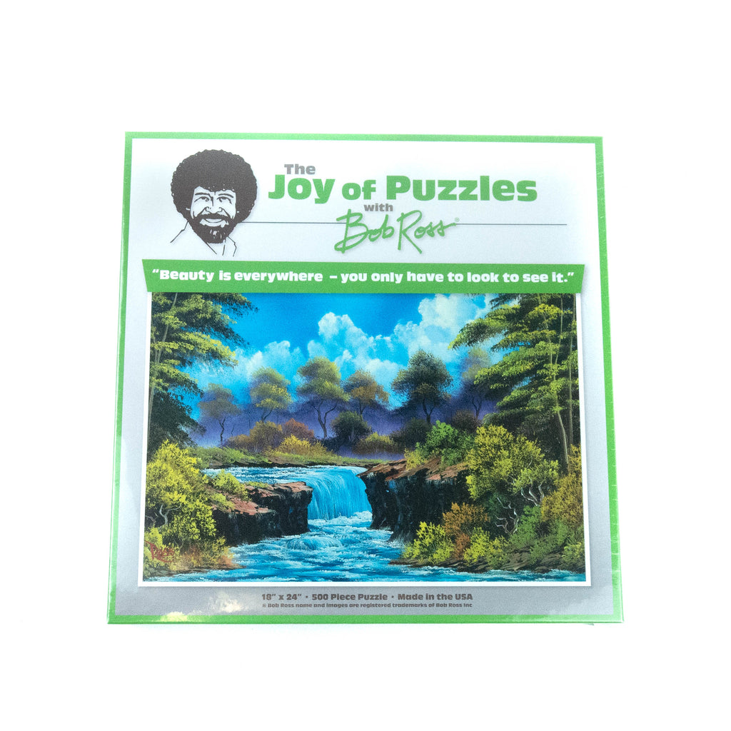 Bob Ross Puzzle by Wellspring (2 Options)