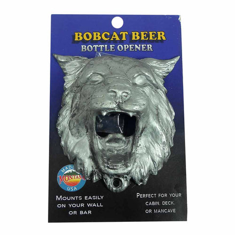 Bobcat Novelty Wall Mount Bottle Opener by Tim Joyner