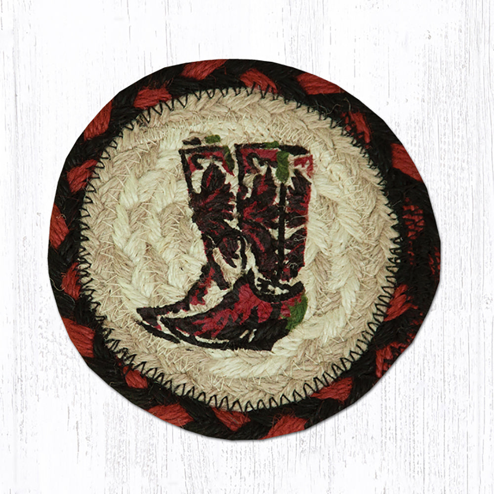 Boots Coaster by Capitol Earth Rugs