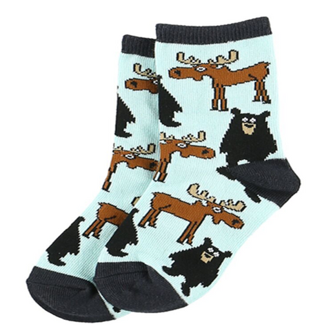 Born To Be Wild Kids' Socks by Lazy One