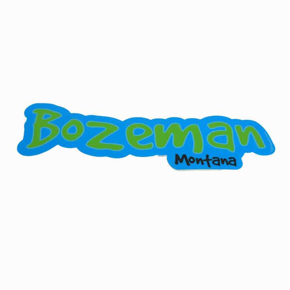 Bozeman Montana Good Dog Sticker
