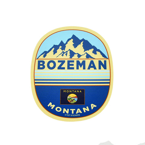 Bozeman Solex Stadium Oval Sticker by TGT