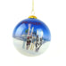 Bridger Ski Lodge Ski's and Poles in Snow Christmas Ornament by Art Studio Company  at Montana Gift Corral