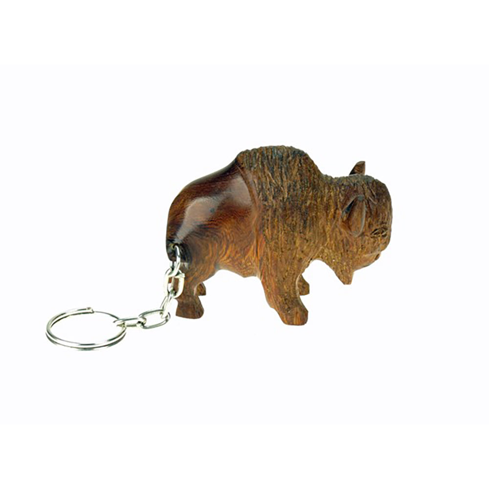 Buffalo 3D Keychain by Earthview, Inc.