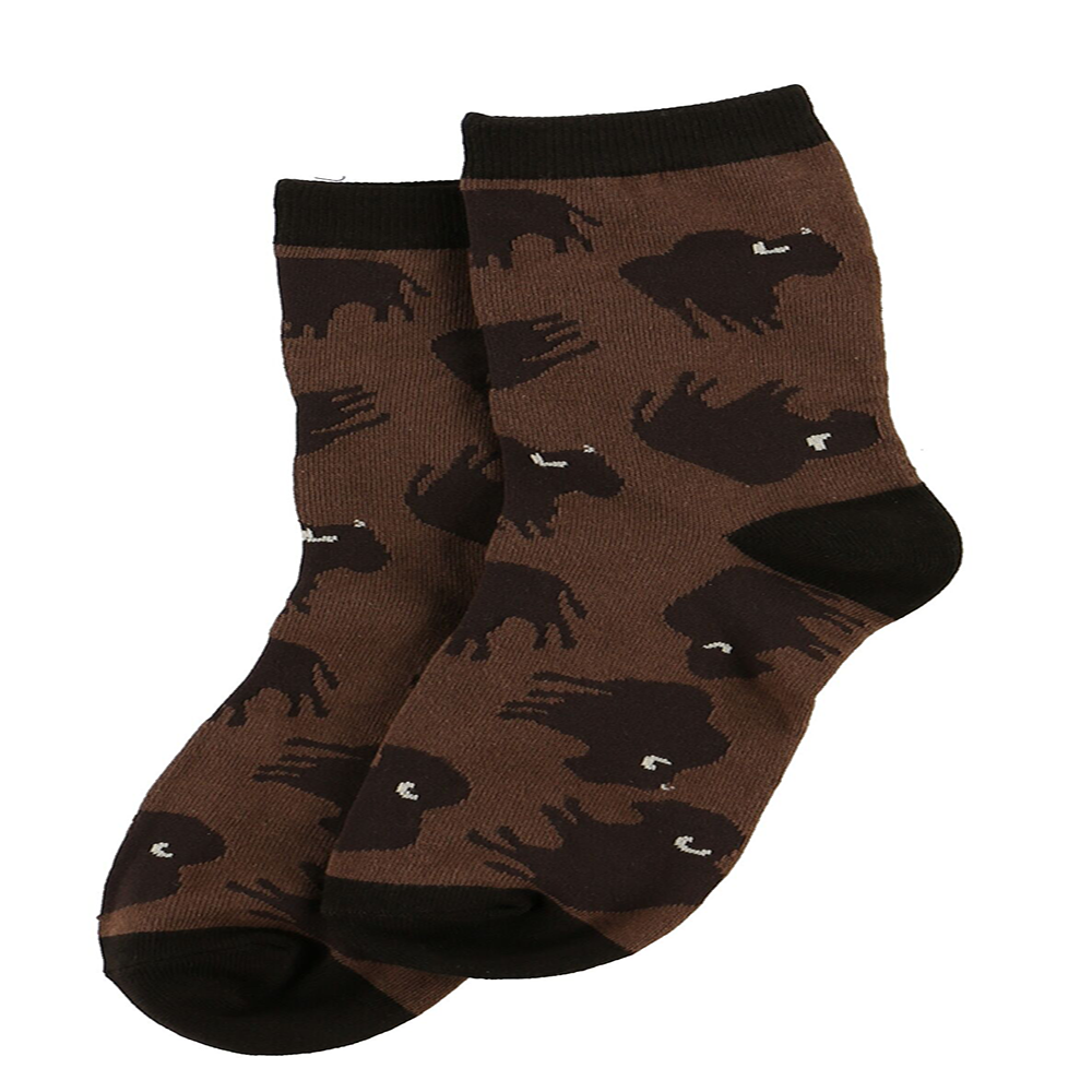 Buffalo Crew Socks by Lazy One