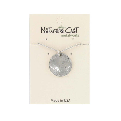 Buffalo Nickle Pendant by Nature Cast Metalworks