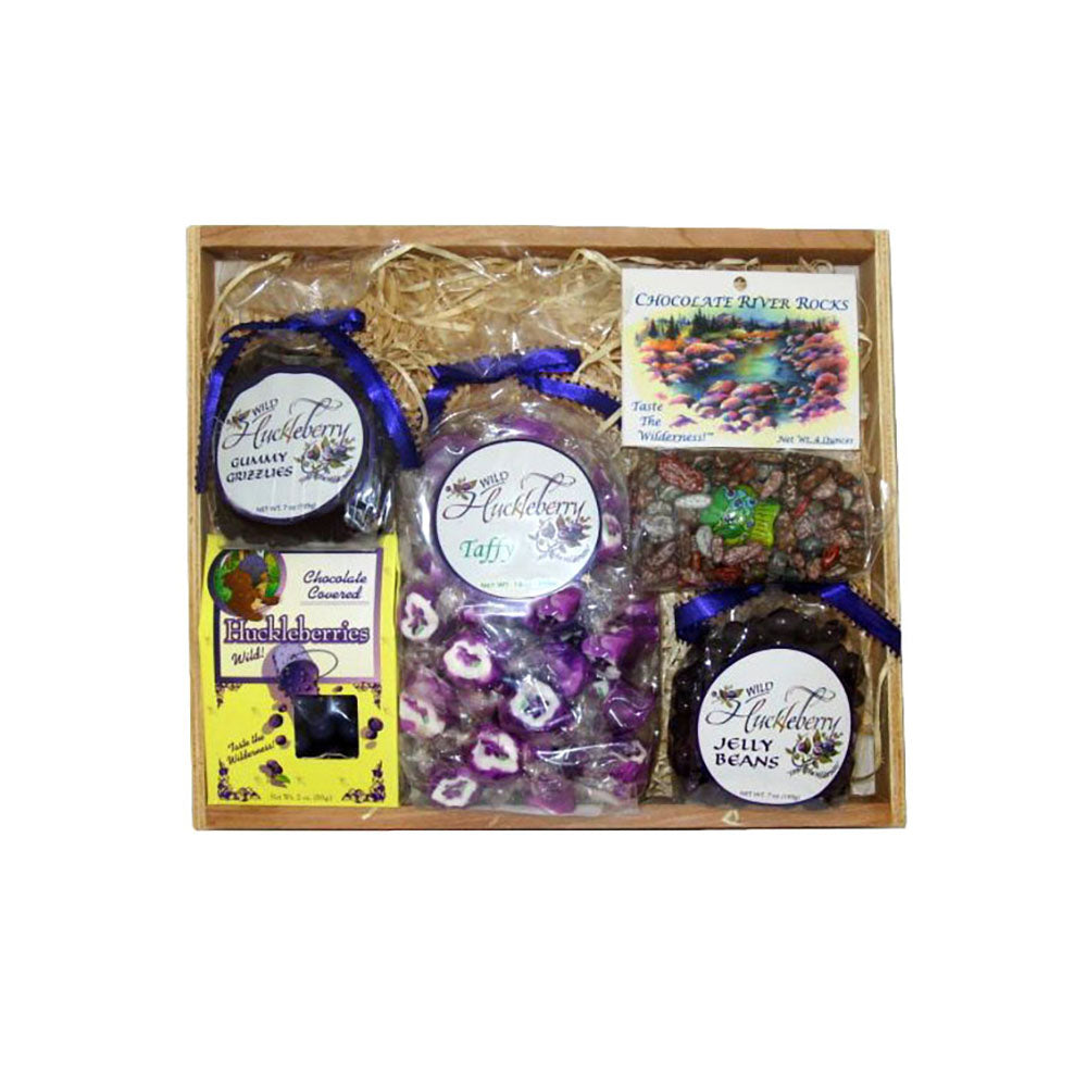 Huckleberry Candy Pack Gift Crate