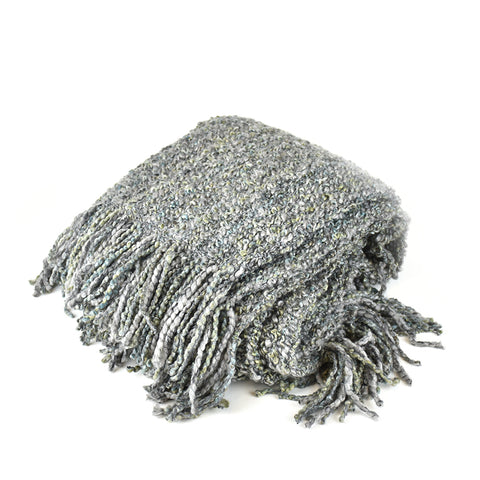Canyon Silver Throw Blanket by Kennebunk Home at Montana Gift Corral