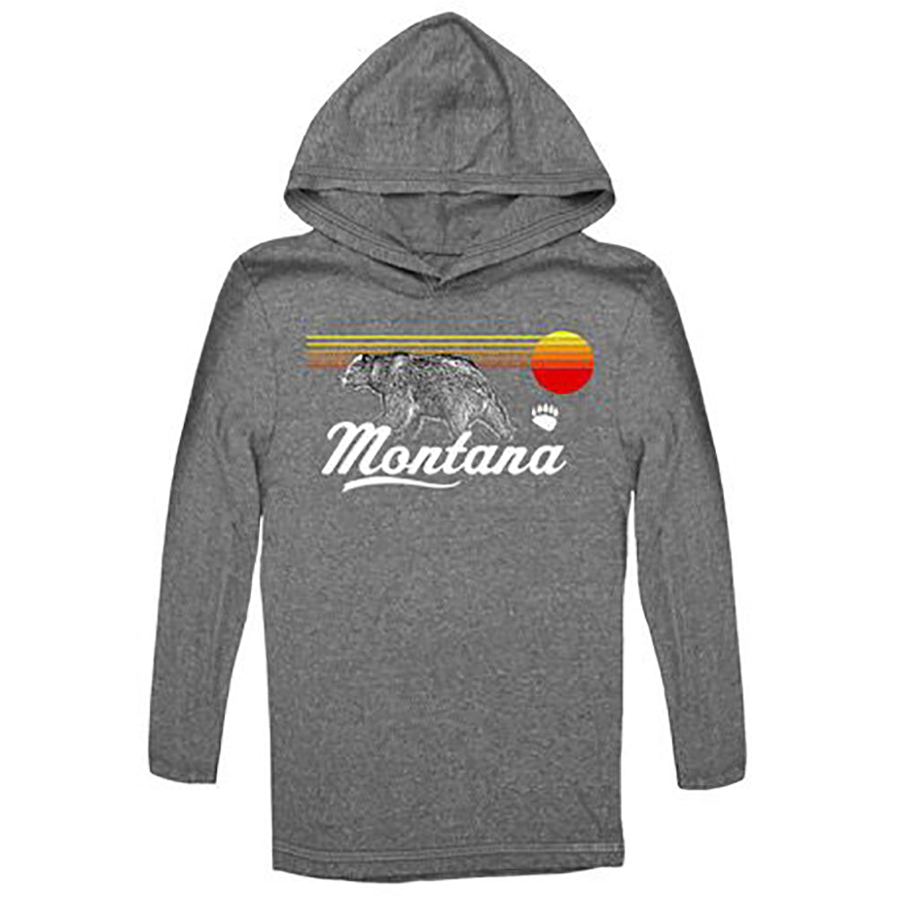 Charcoal Back to the Future Youth Montana Hoodie