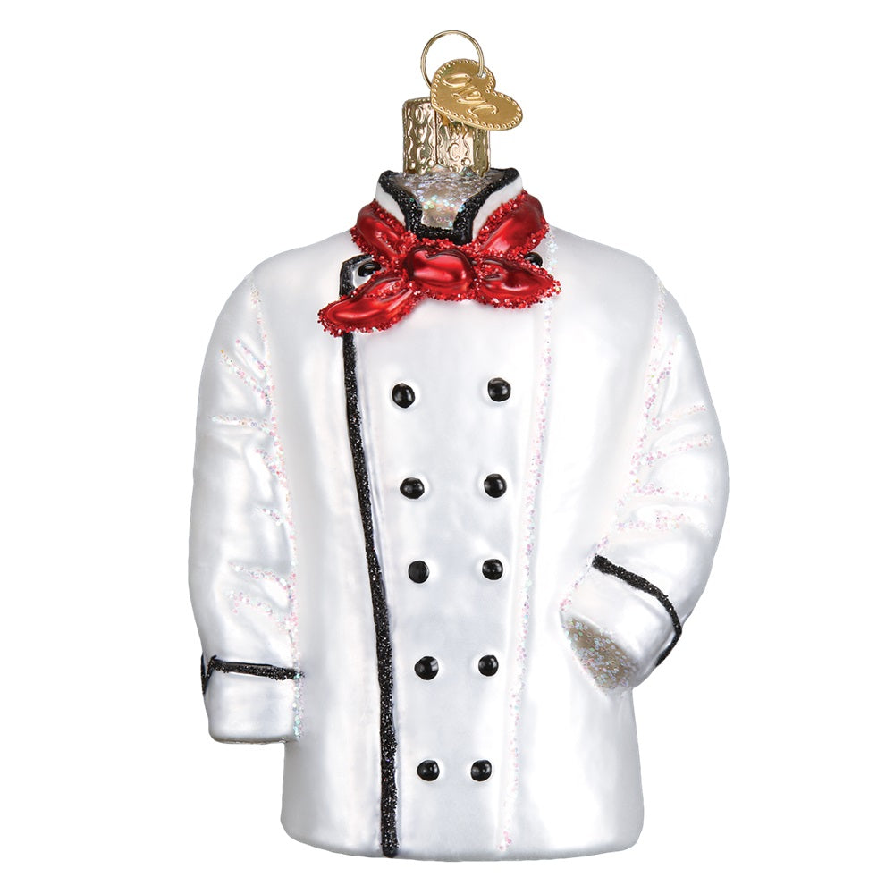 Chef's Coat Christmas Ornament by Old World Christmas at Montana Gift Corral