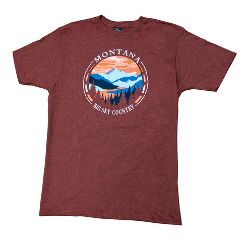 The Chili Perfect Circle Mountain Shirt by Prairie Mountain is a great Montana shirt for anyone!