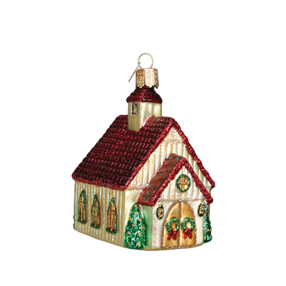 Christmas Chapel Ornament by Old World Christmas