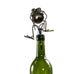 Gnome Be Gone Chugger the Bugger Wine Stopper by Fred Conlon from Sugarpost at Montana Gift Corral front view