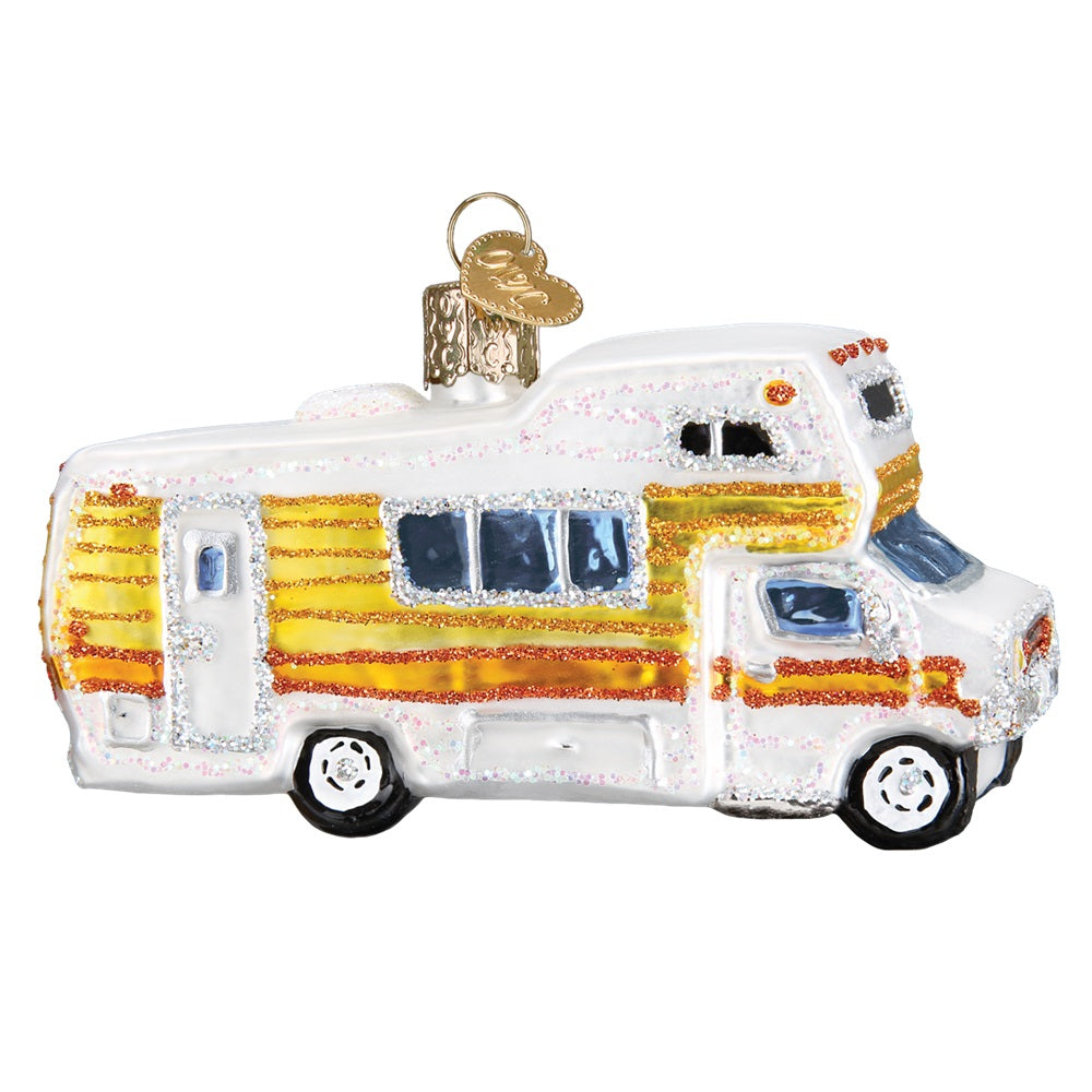 Classic Motor Home Christmas Ornament by Old World Christmas at Montana Gift Corral