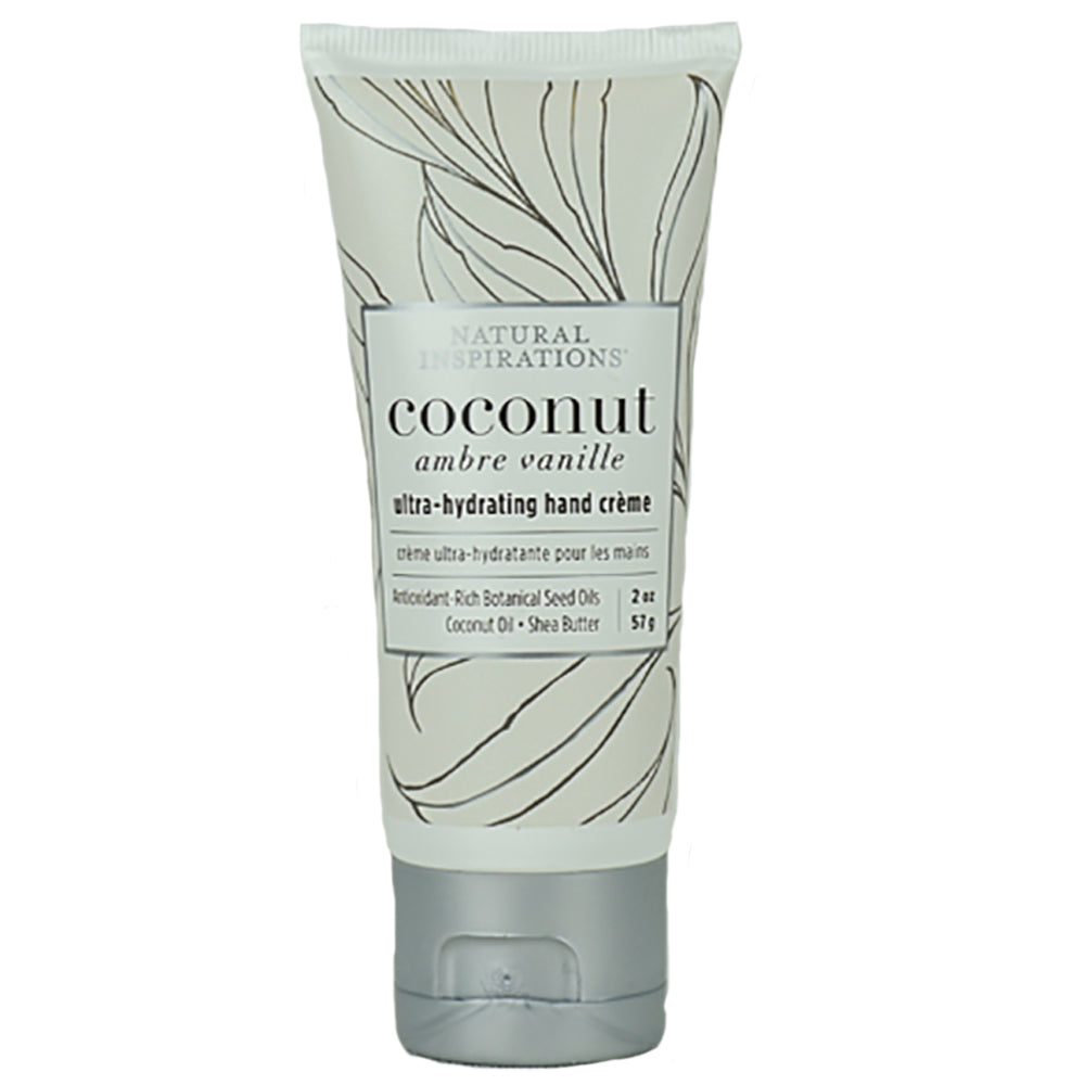 Coconut Ambre Vanille Pocket Ultra-Hydrating Hand Creme by Natural Inspirations