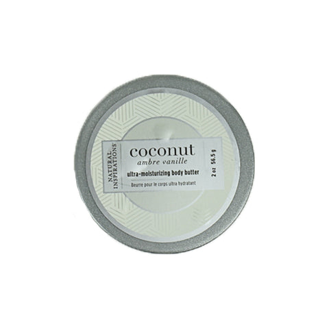 Coconut Ambre Vanille Ultra Moisturizing Body Butter by Natural Inspirations