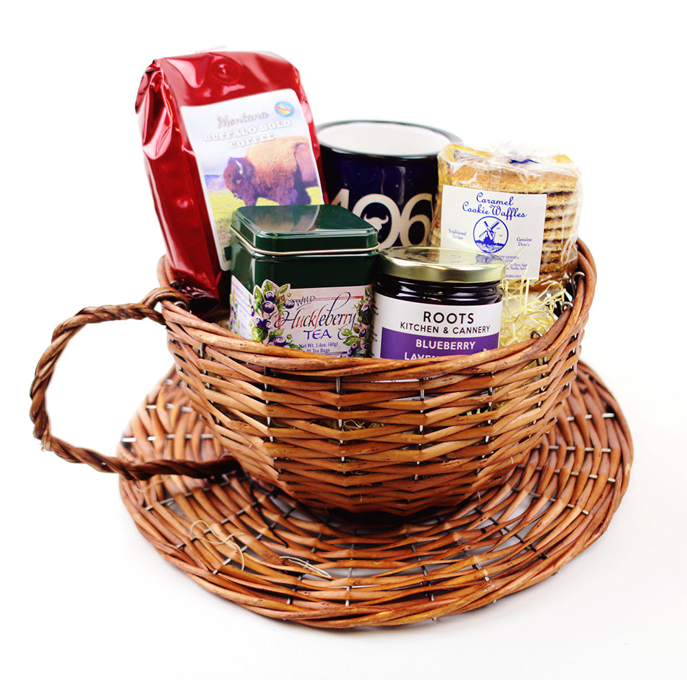 Made in Montana Coffee Gift Basket