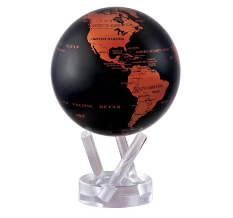 Copper Black Earth MOVA Globe