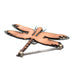 Copper Dragonfly Magnet Keyhook by H&K Studios