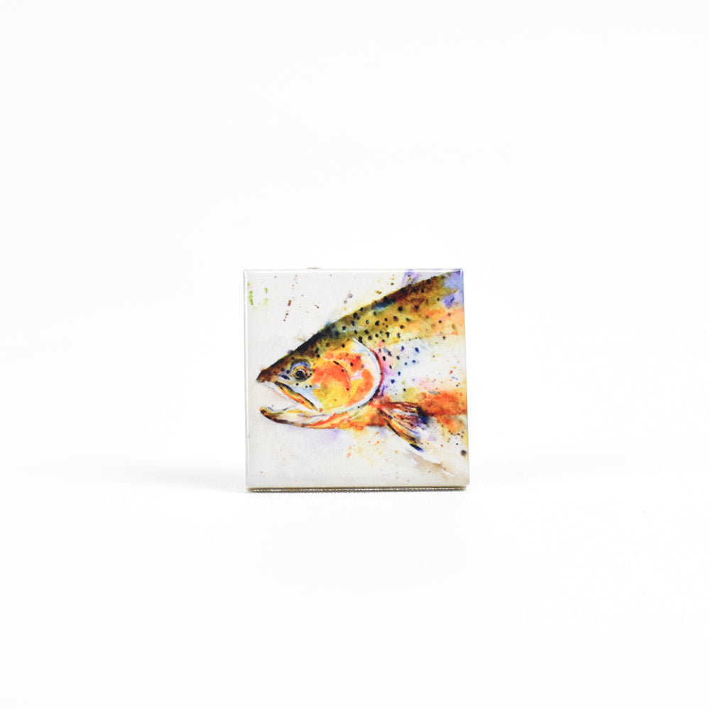 Fish Ceramic Magnets by Dean Crouser