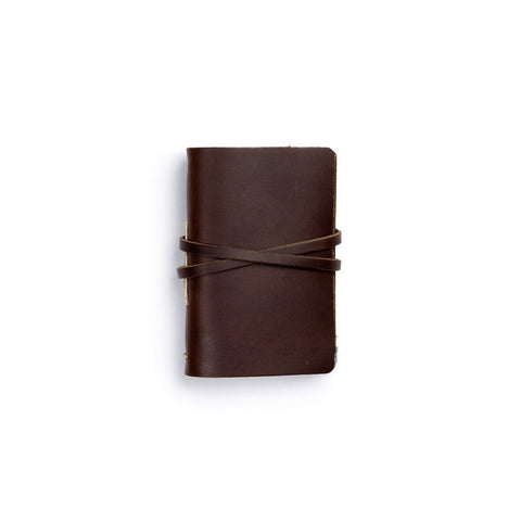 Dark Brown Epiphany Journal by Rustico