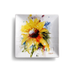 Sunflower Snack Plate by Dean Crouser
