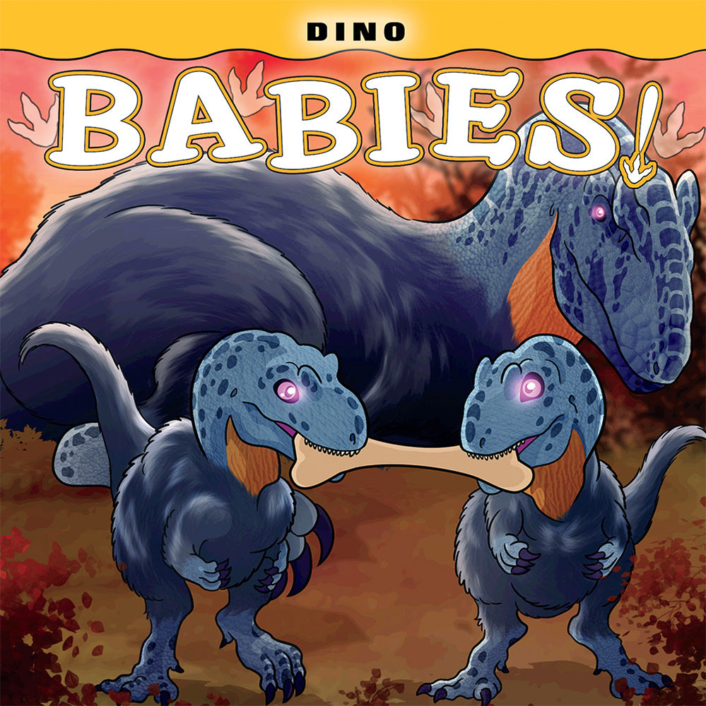 Dino Babies illustrated by Ted Rechlin from Farcountry Press at Montana Gift Corral