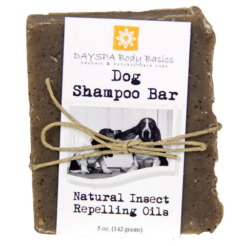 Dog Shampoo Naturally Insect Repelling Premium Bar by DaySpa