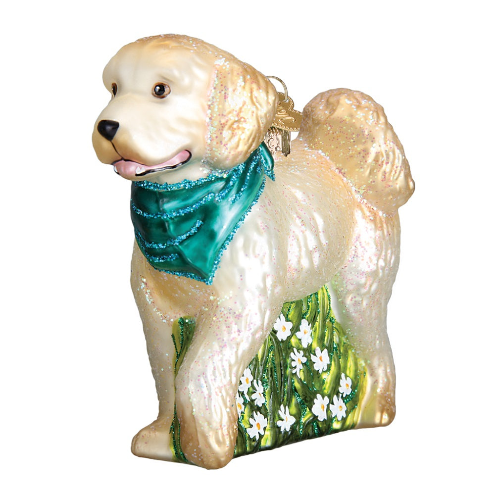 Doodle Dog Christmas Ornament by Old World Christmas at Montana Gift Corral