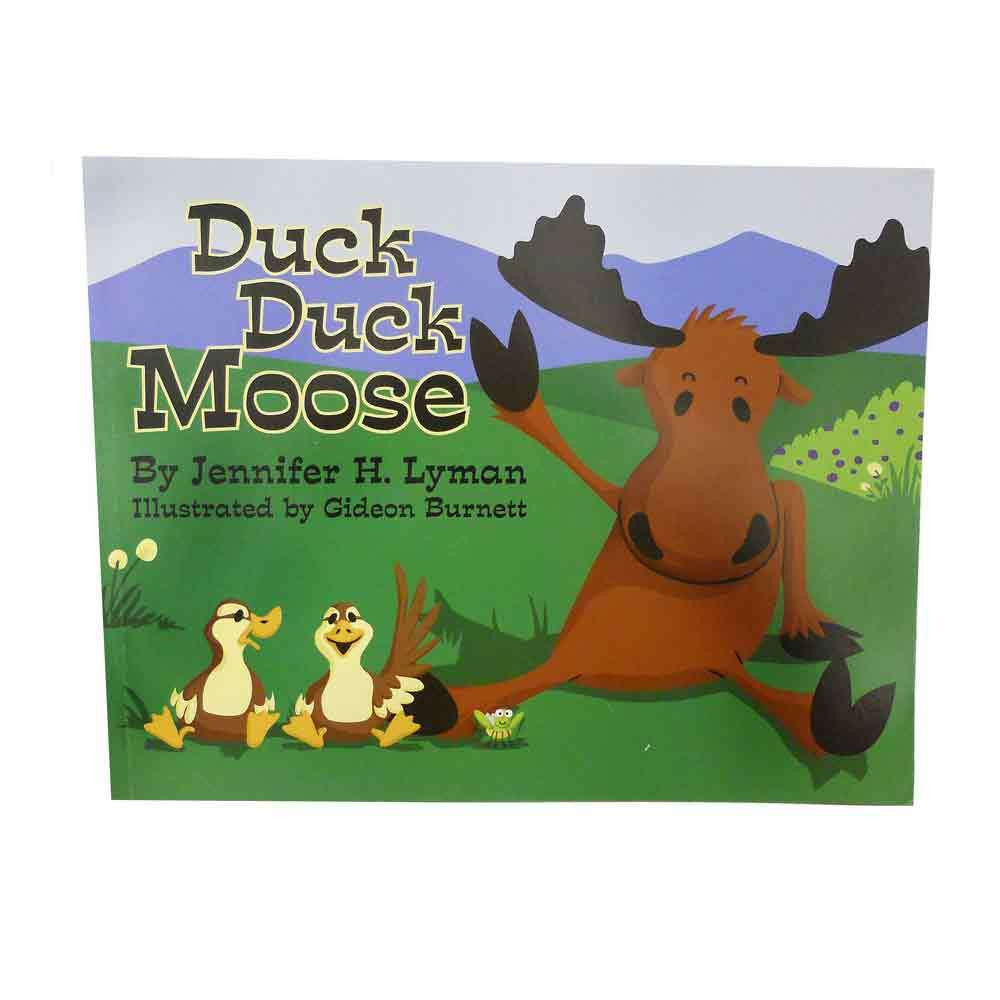 Duck Duck Moose Book