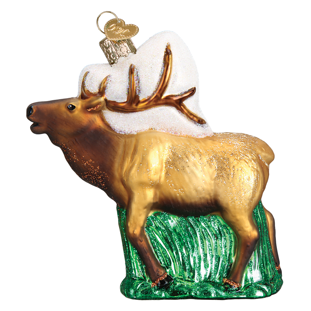 Elk Ornament by Old World Christmas
