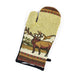 Elk Country Montana Wildlife Oven Mitts by Kinara Fine Weaving