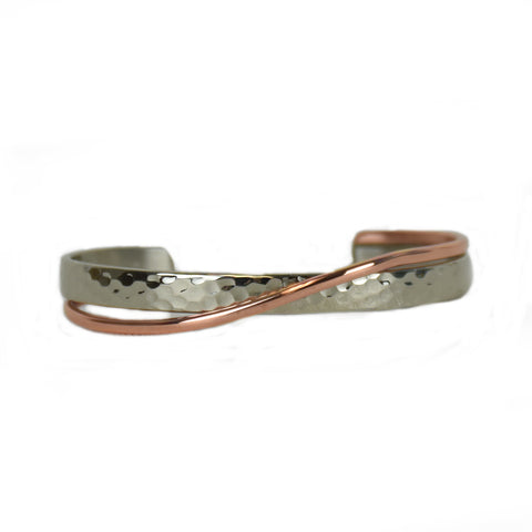 Embrace Mixed Metal Bracelet by Sergio Lub Jewelry