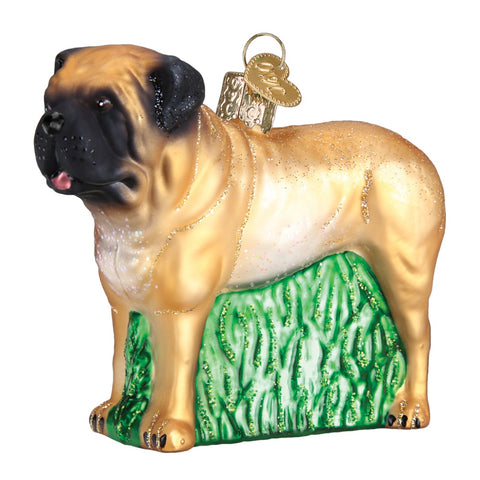 English Mastiff Christmas Ornament by Old World Christmas at Montana Gift Corral