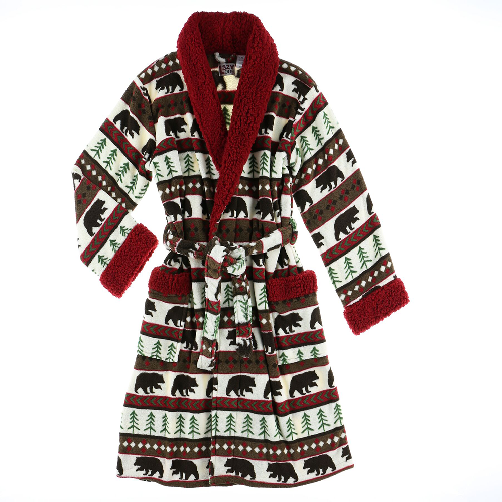 Fair Isle Bathrobe by Lazy One