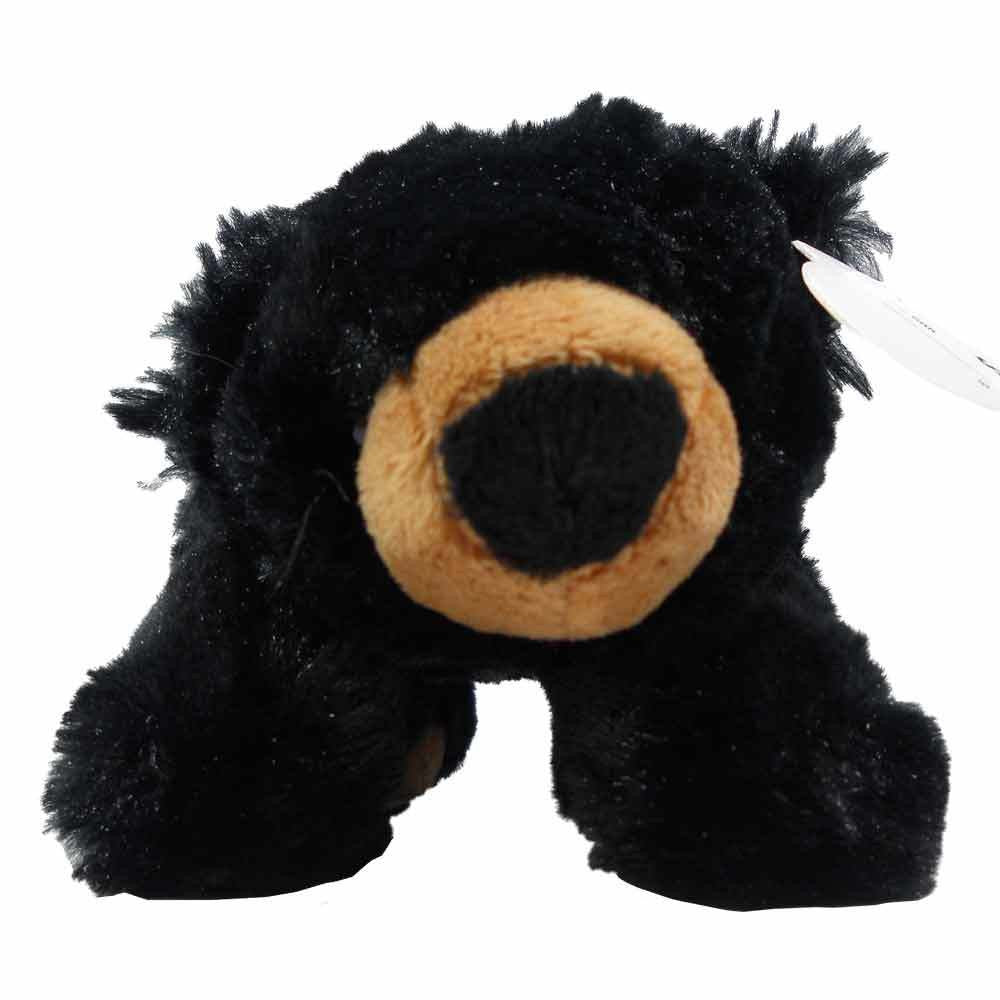 Floppy Black Bear-10 inch