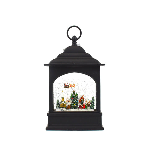 Flying Santa LED Lantern by Oak Street Wholesale
