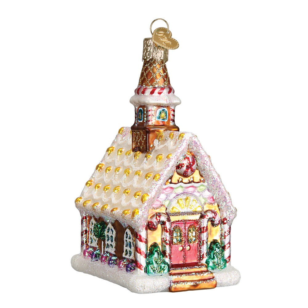 Gingerbread Church Christmas Ornament by Old World Christmas at Montana Gift Corral