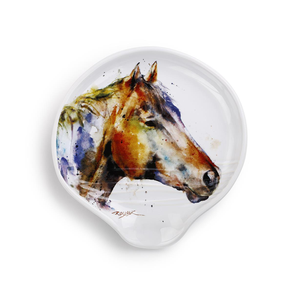 Good Lookin' Horse Spoon Rest by Dean Crouser