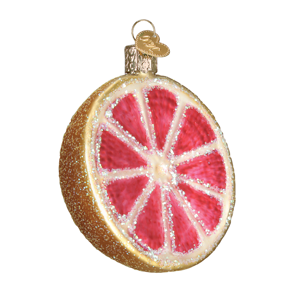 Grapefruit Ornament by Old World Christmas